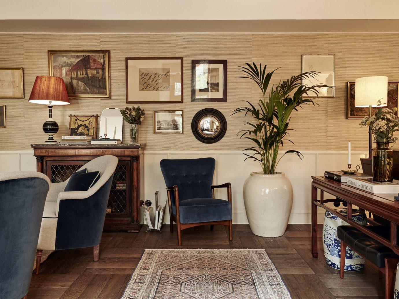 lounge in Hotel Sanders in Copenhagen