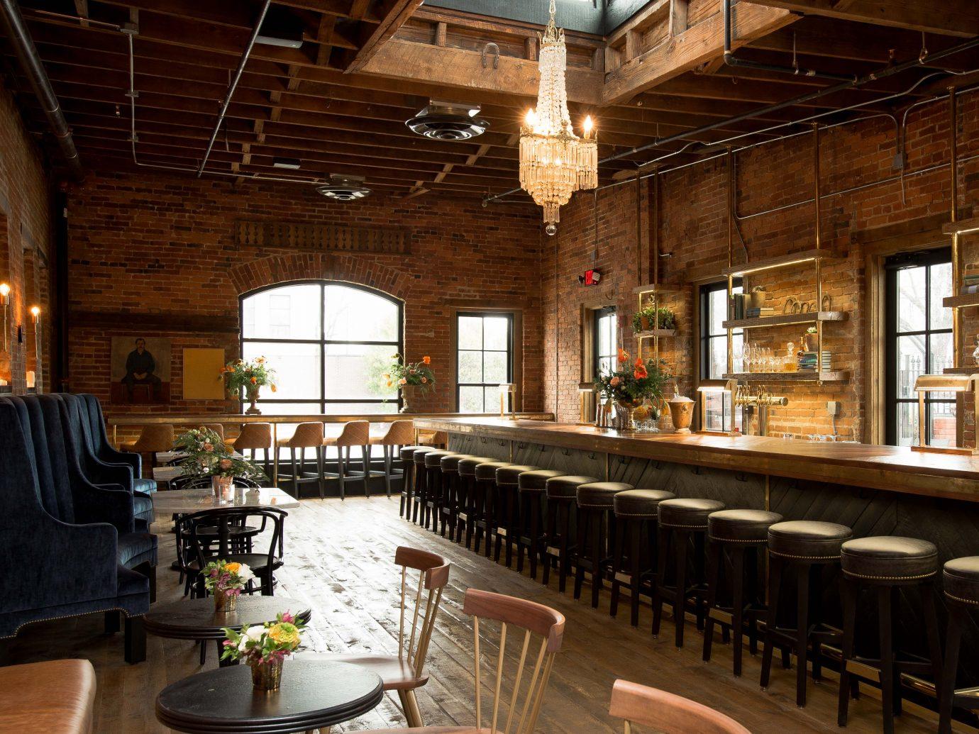 Interior bar area of Geist in Nashville