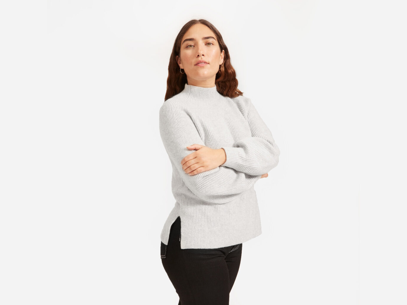 Everlane Women's Premium Cashmere Mockneck