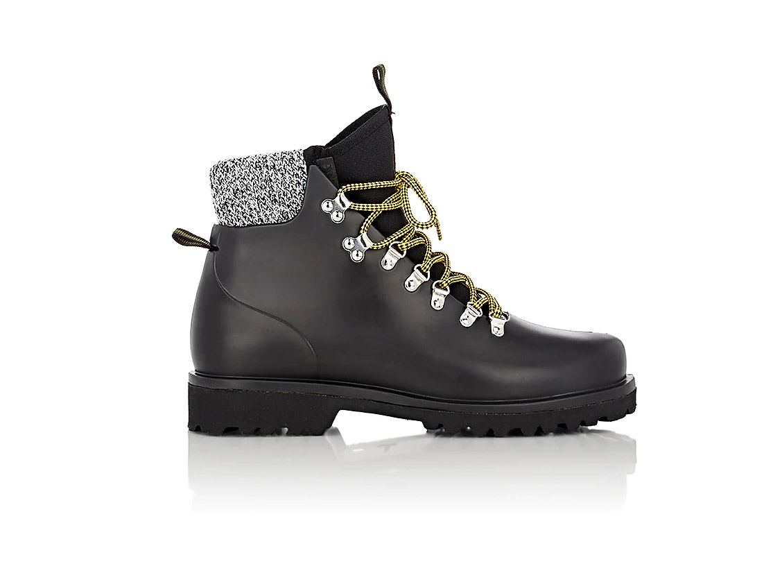 Barneys New York Rubber Hiking Boots