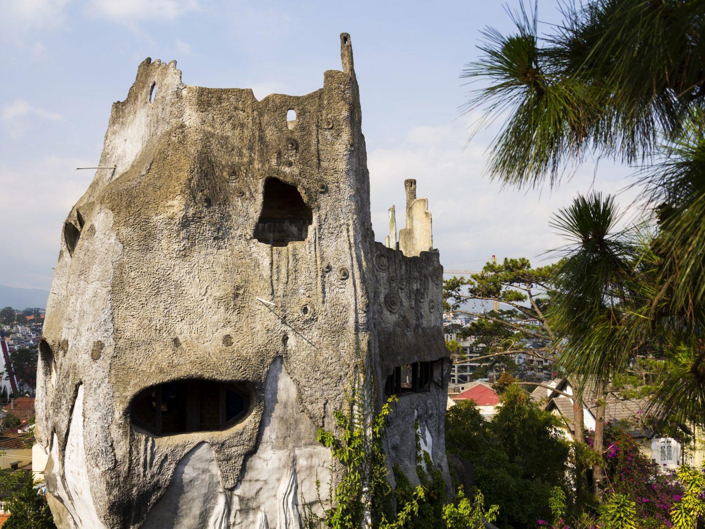 Bizarre construction of the Crazy house in Dalat, Vietnam