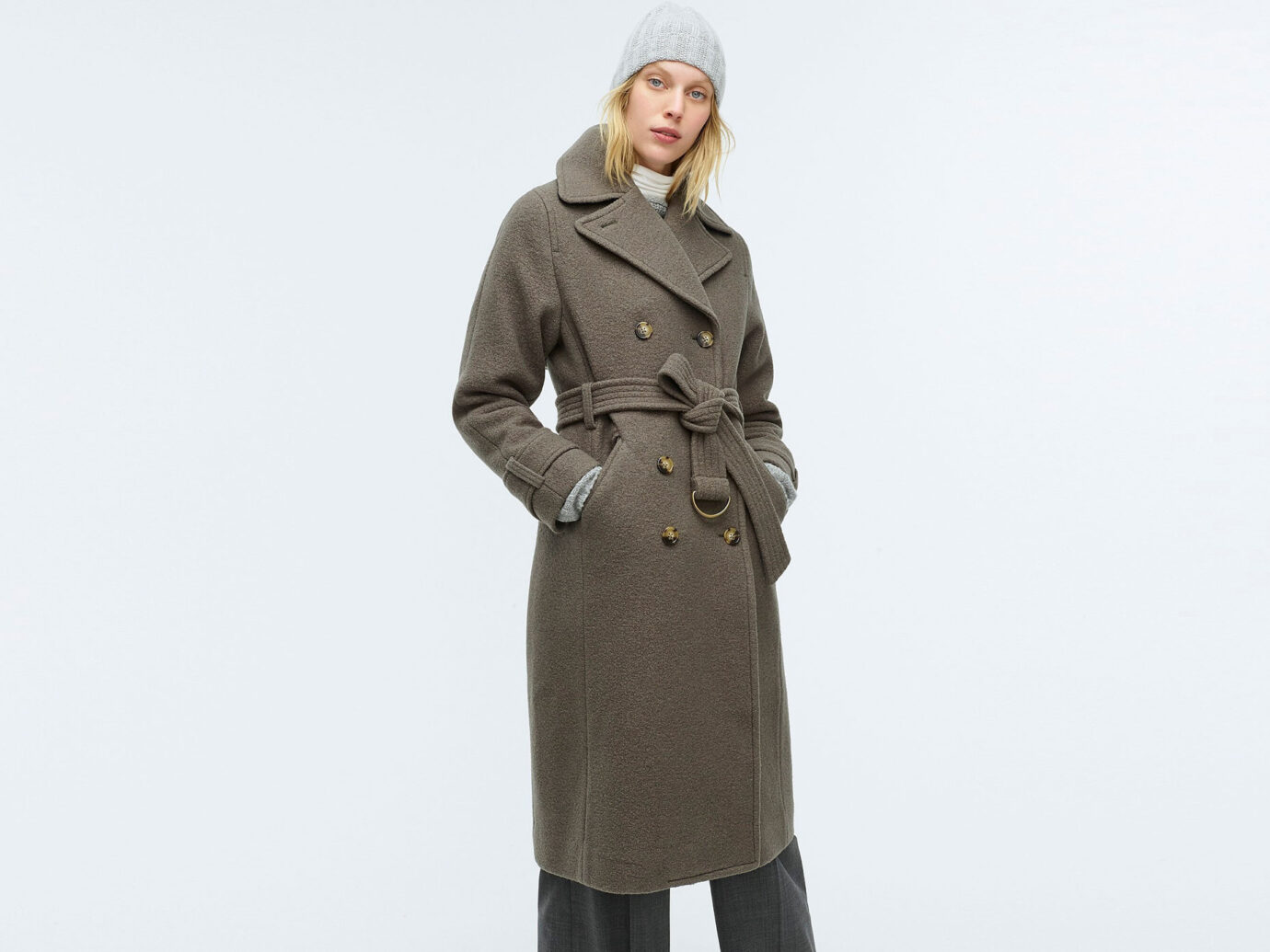 J. Crew Double Breasted trench coat