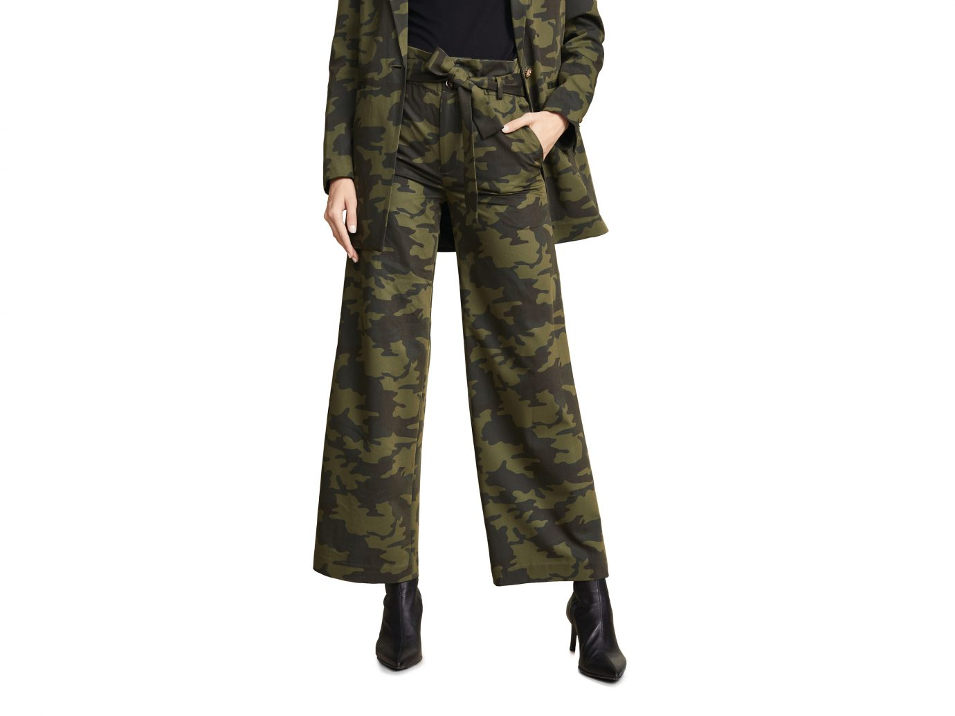 LAVEER Camo Paperbag Trousers