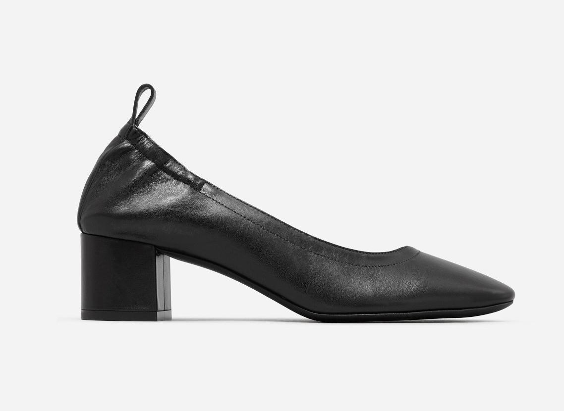 Everlane The Day Heel in black