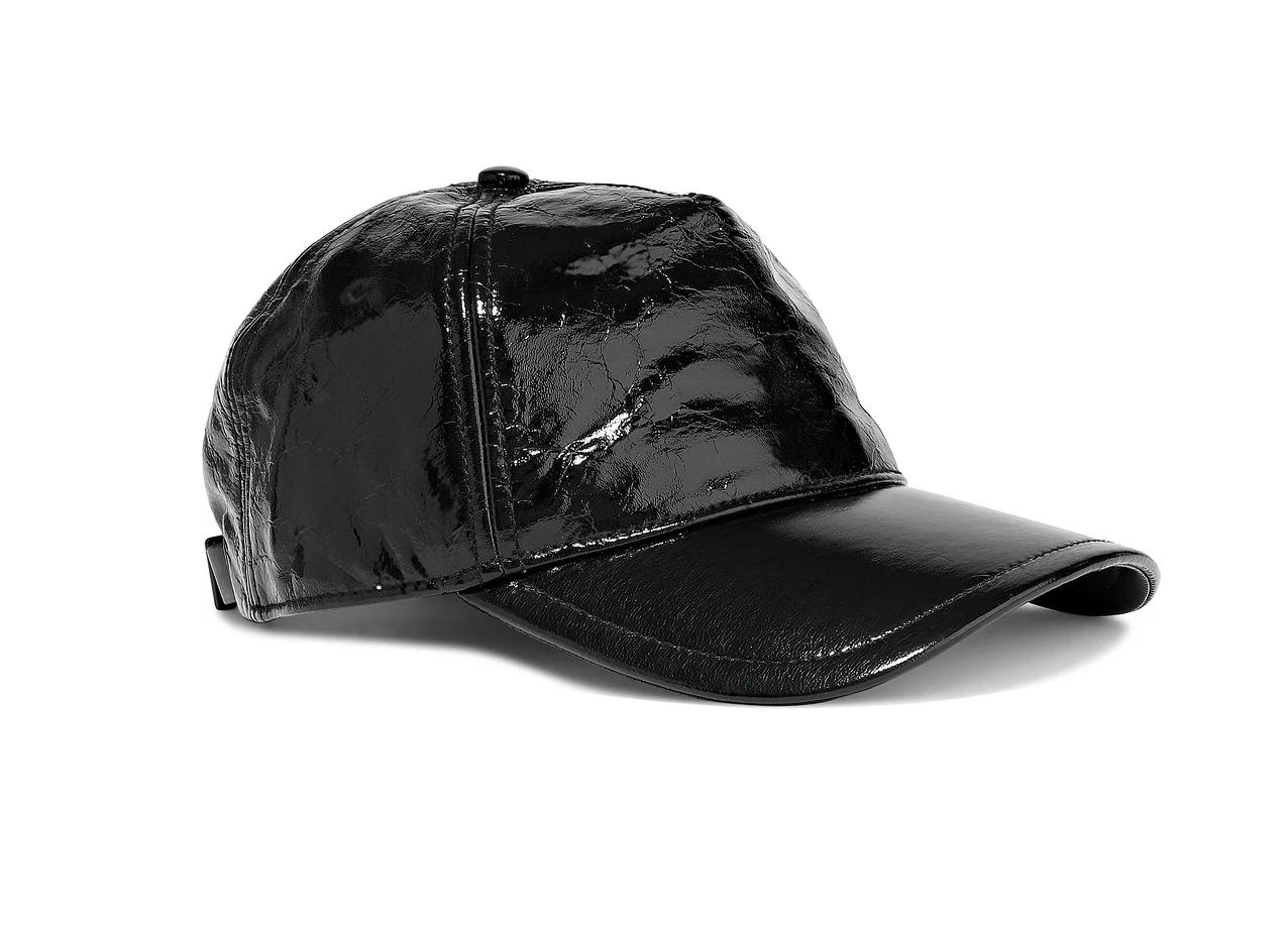 Rag & Bone Marilyn Leather Baseball Cap