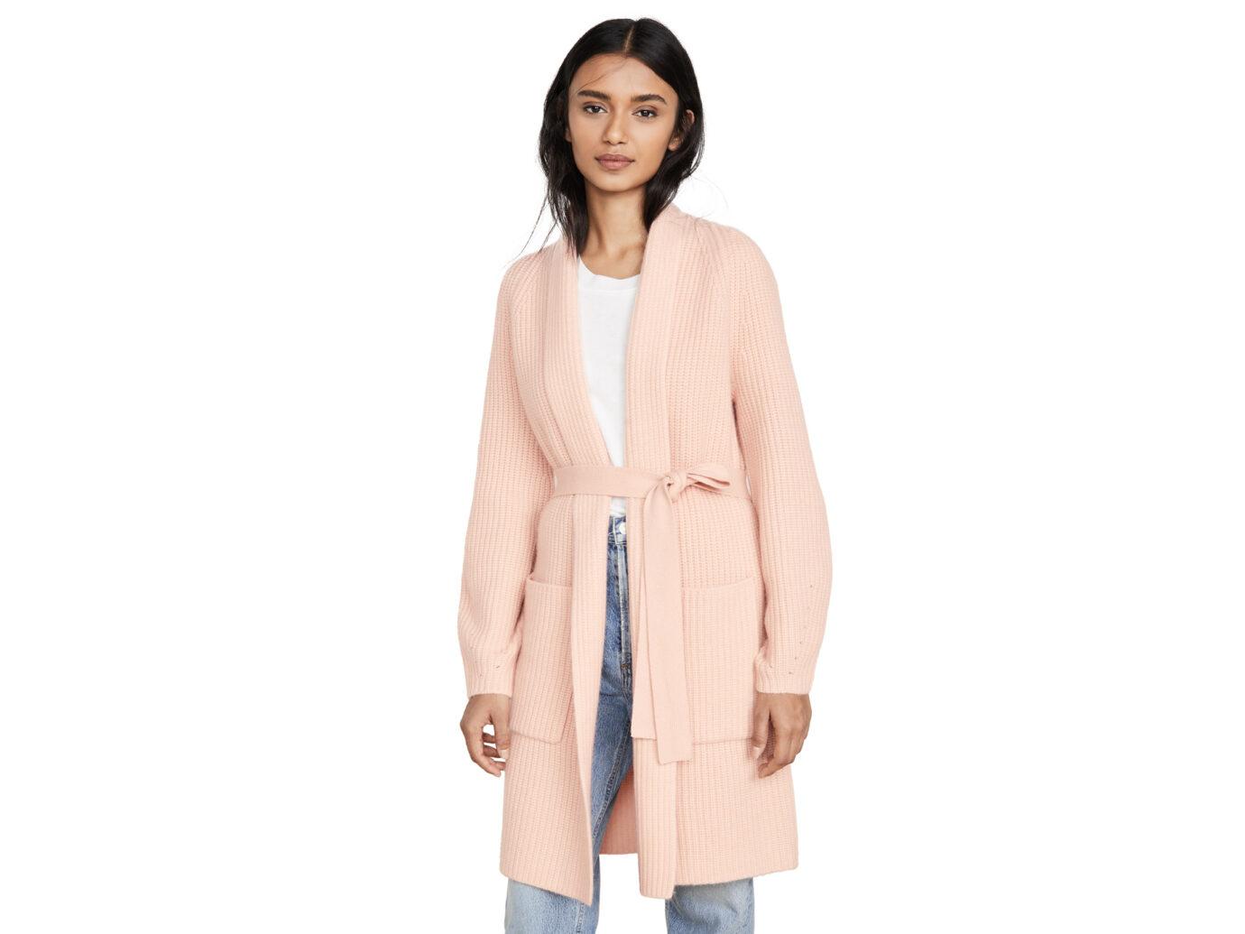 TSE Cashmere Cardigan Coat
