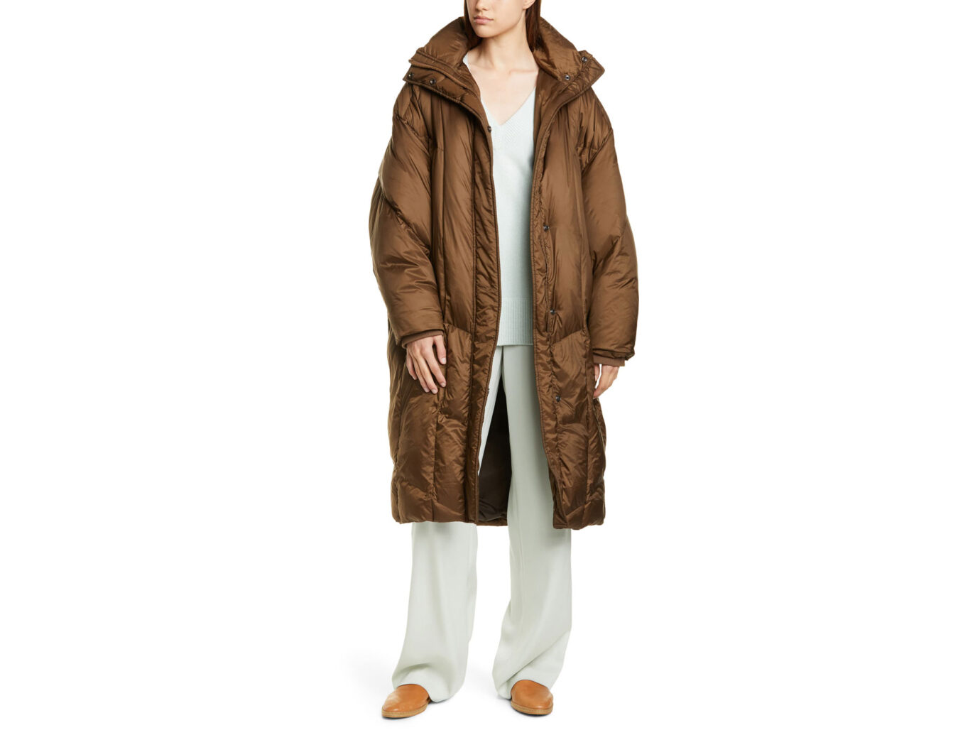 Vince Quilted Puffer Coat