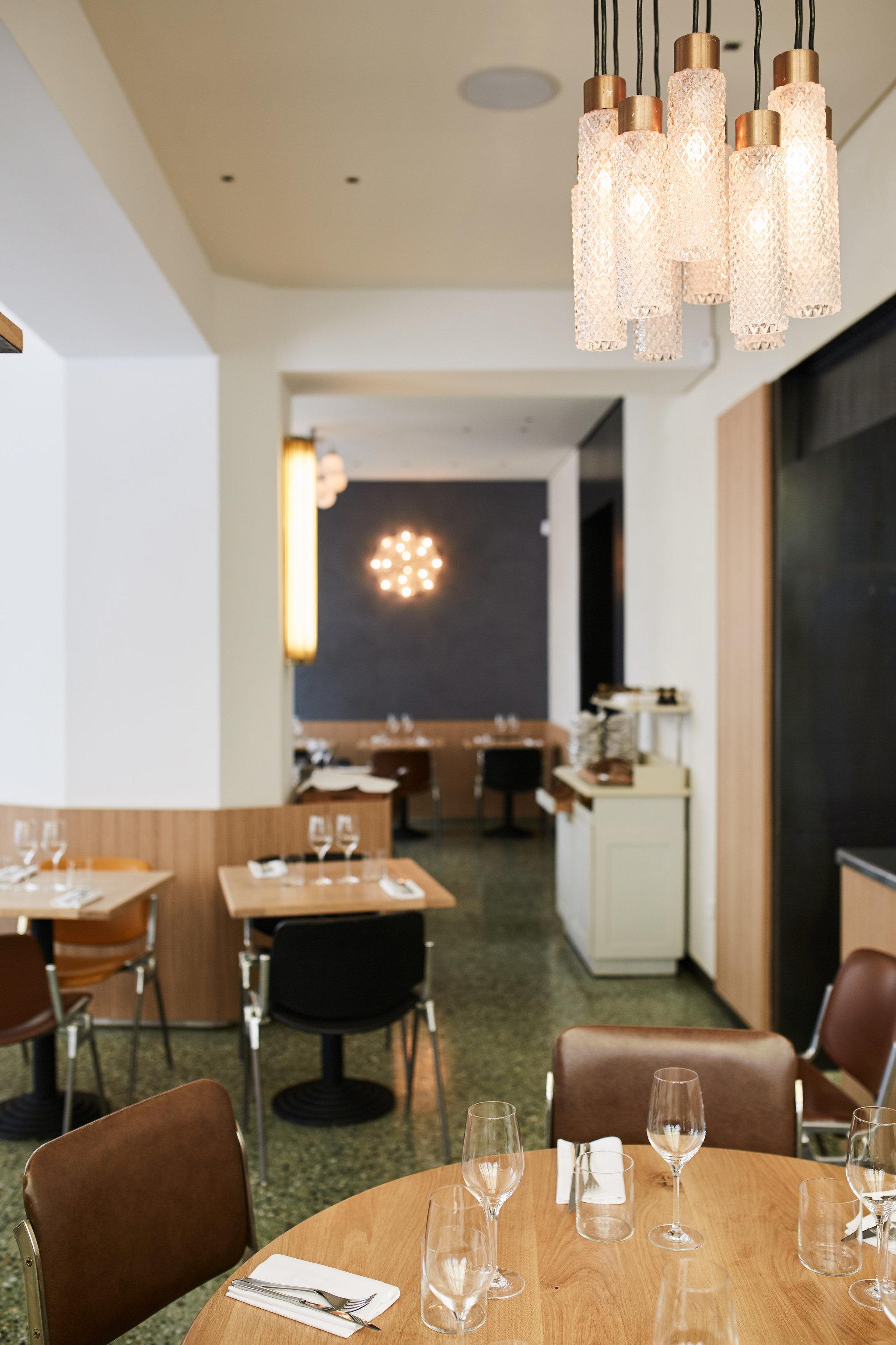 Dining room at Restaurant Passerini