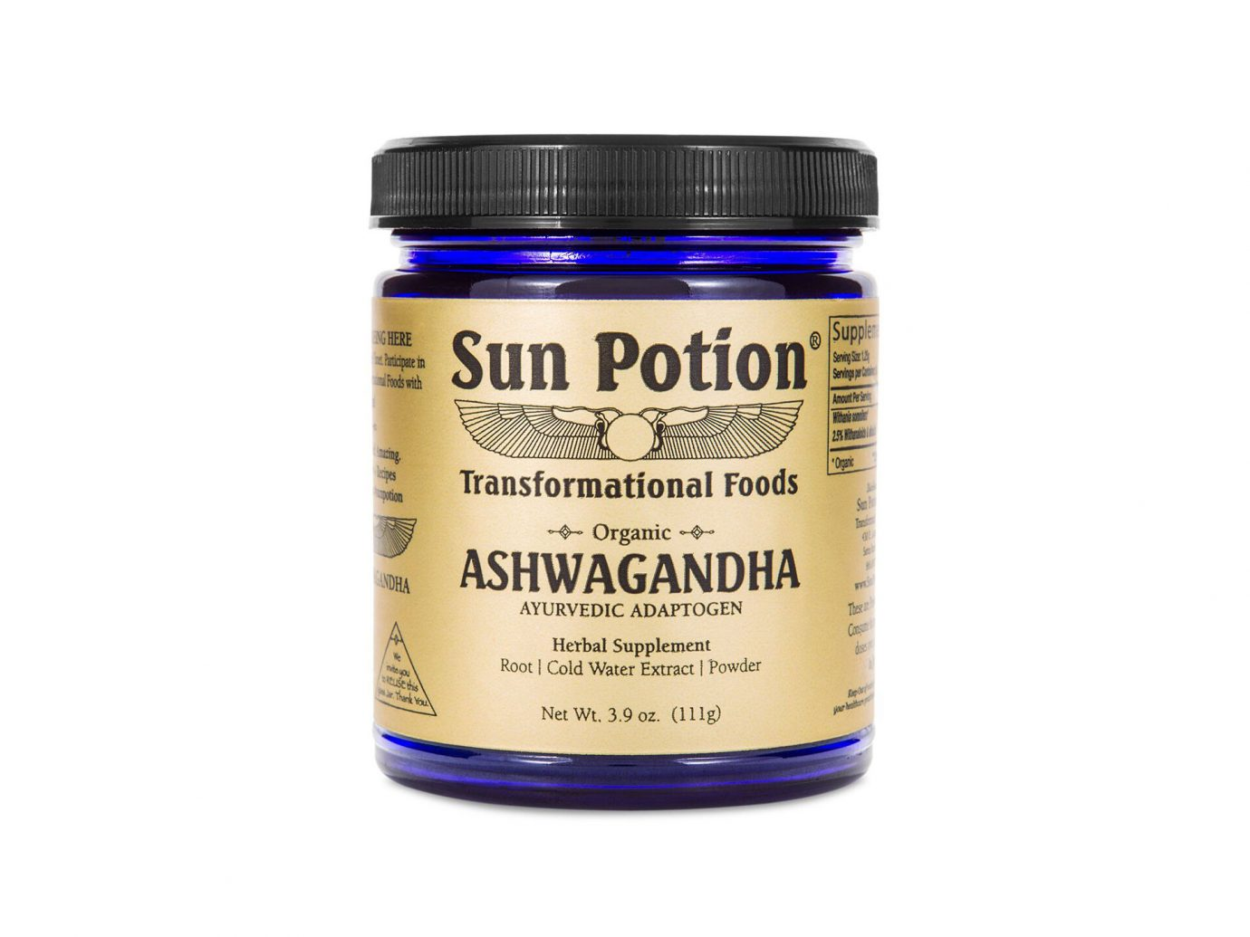 Sun Potion Ashwagandha Supplements