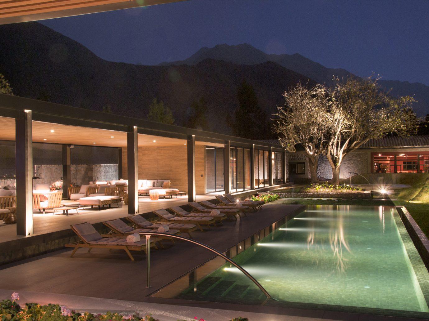 Swimming pool at Sol y Luna resort