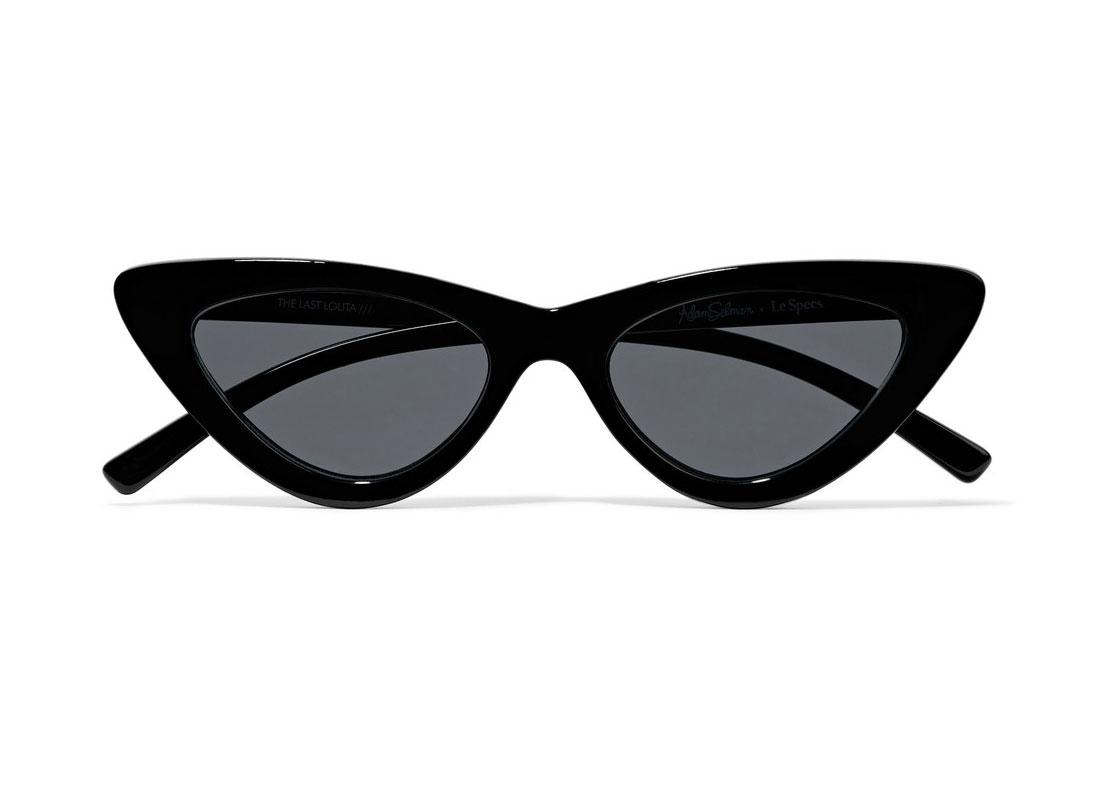 Le Specs + Adam Selman The Last Lolita Cat-eye Sunglasses