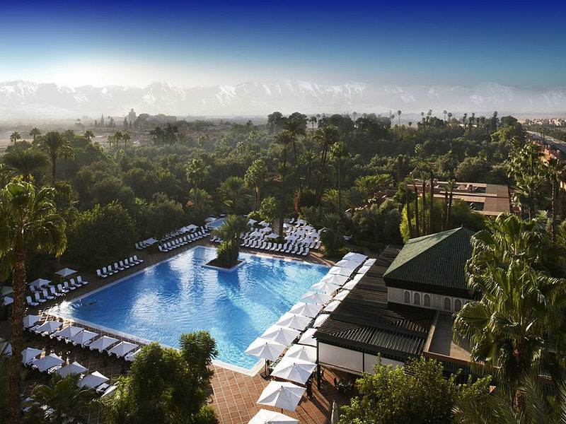 Pool of La Mamounia Marrakech
