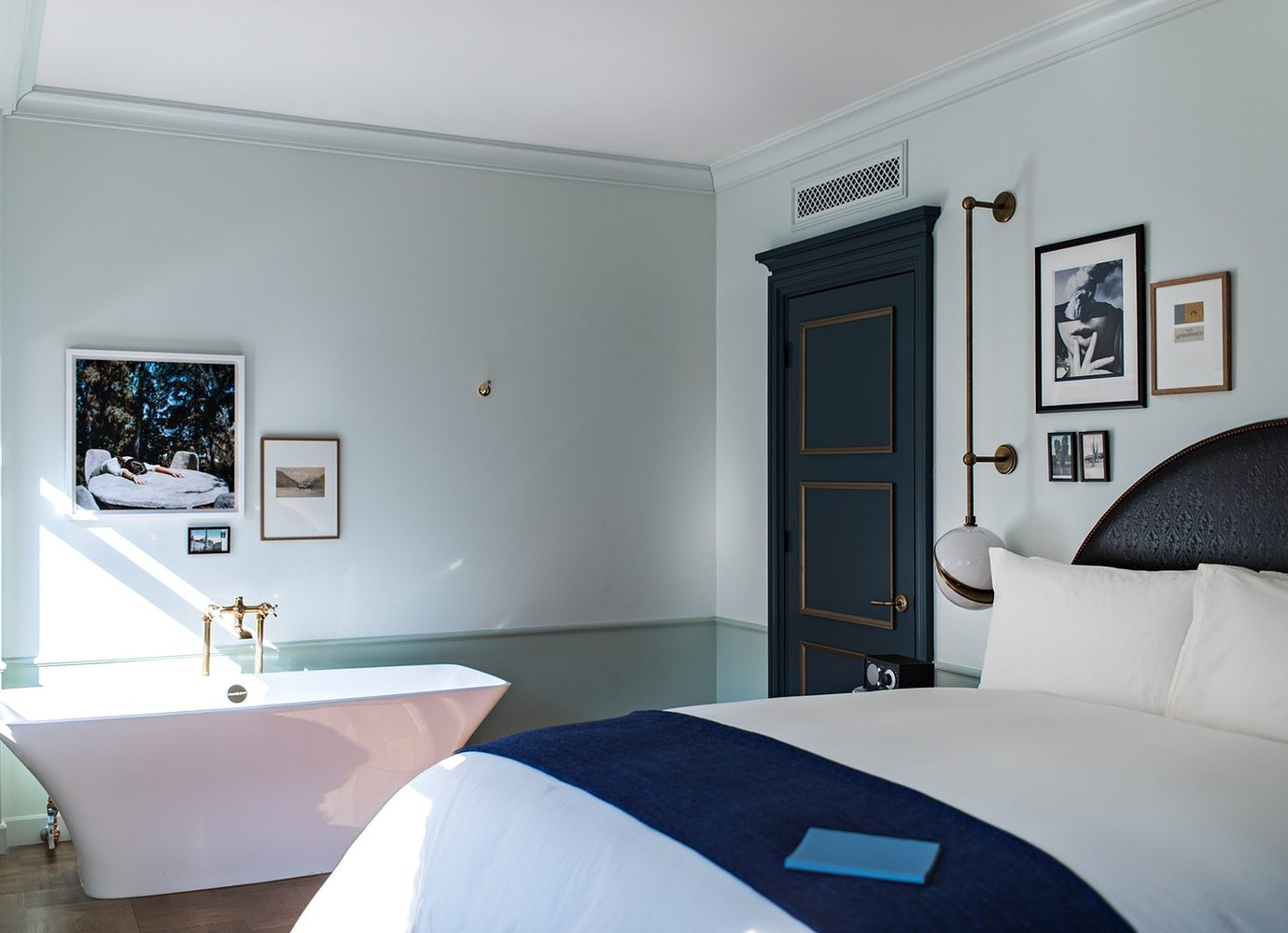 guestroom at The NoMad Hotel Los Angeles
