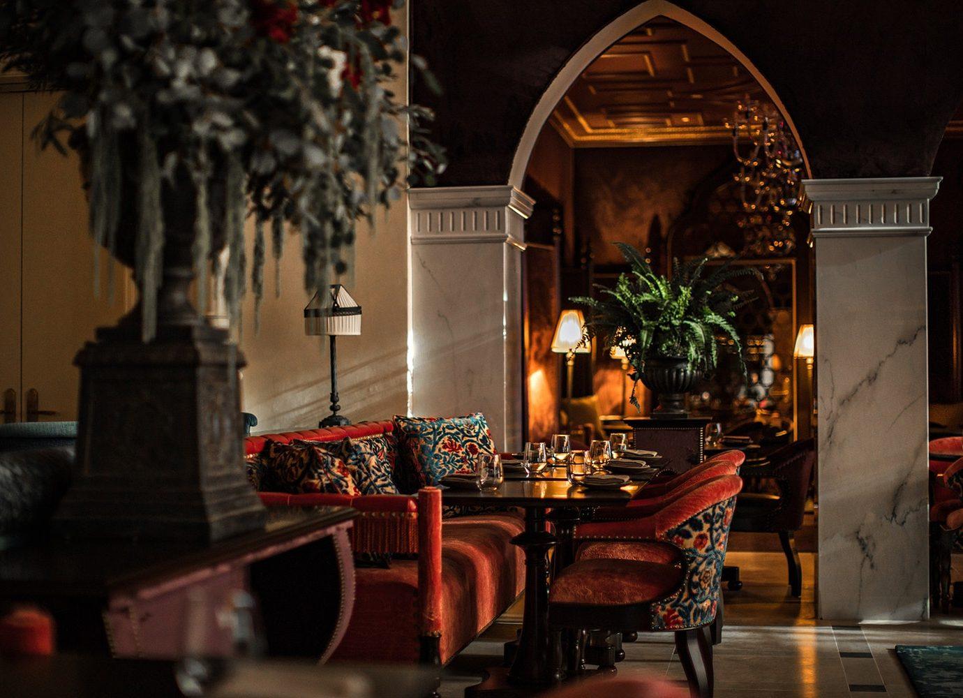 elegant lounge/bar at The NoMad Hotel Los Angeles