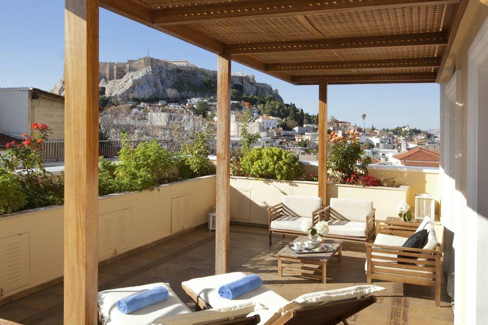Deck view at Electra Palace Athens