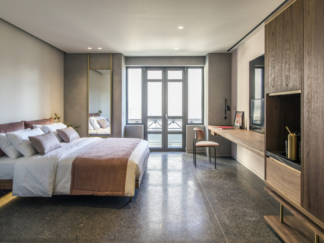 Bedroom at Perianth Athens