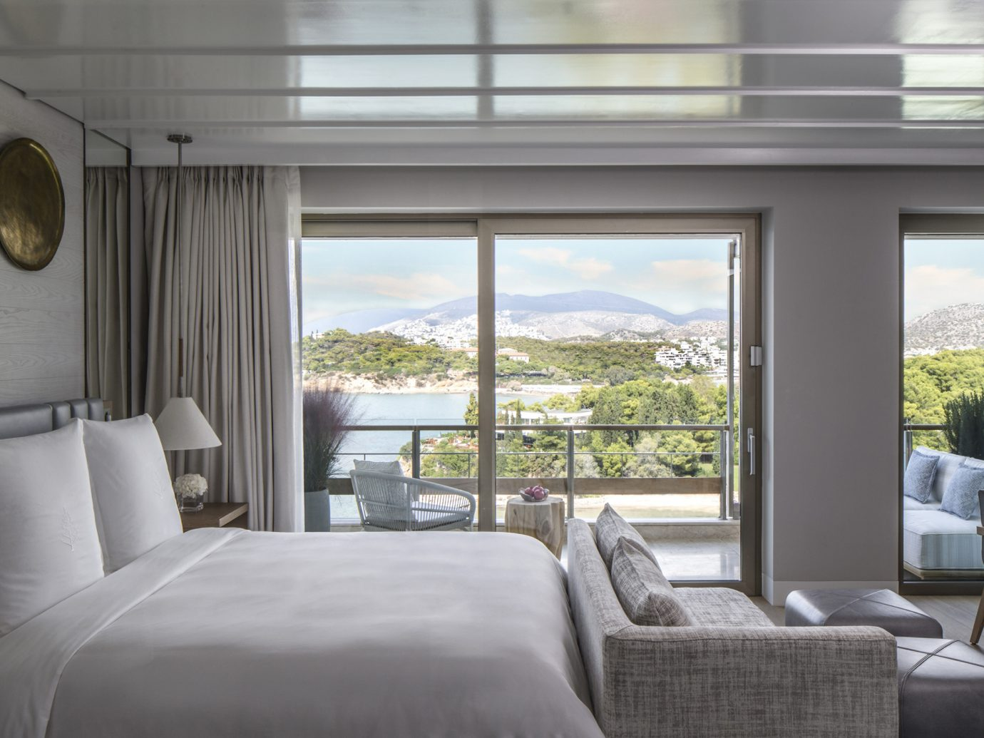 Bedroom view at Four Seasons Astir Palace