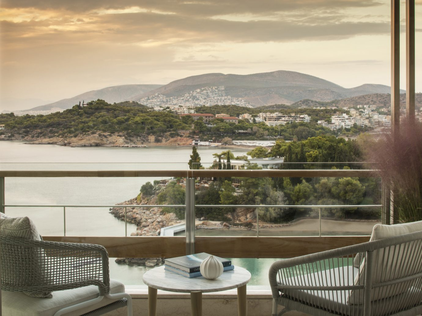 patio view from Four Seasons Astir Palace