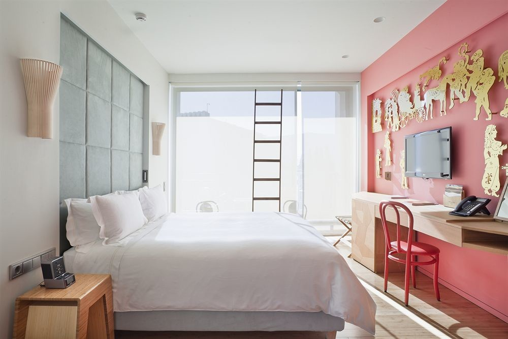 Bedroom of New Hotel Athens