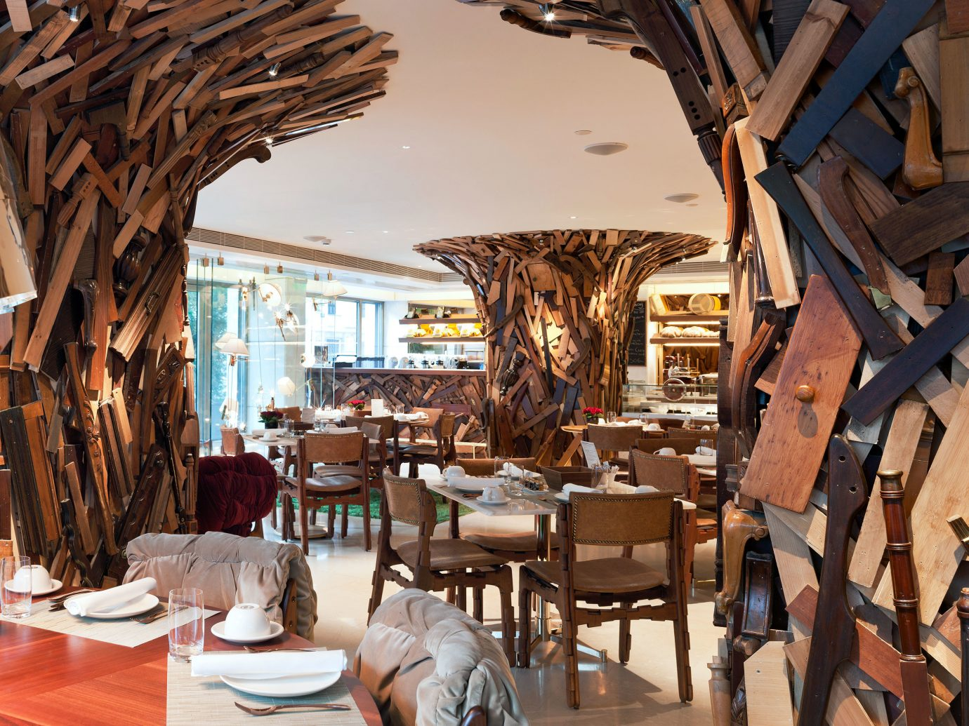 Restaurant of New Hotel Athens