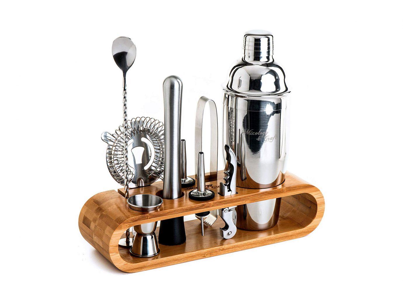 Mixology 10-Piece Bar Tool Set with Bamboo Stand