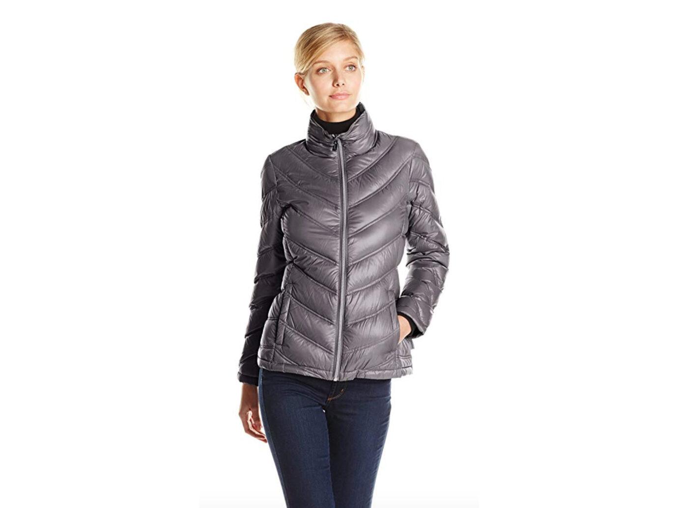 Calvin Klein Lightweight Chevron Packable Jacket