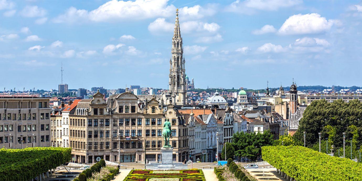 Skyline Brussels, Monts des Arts.