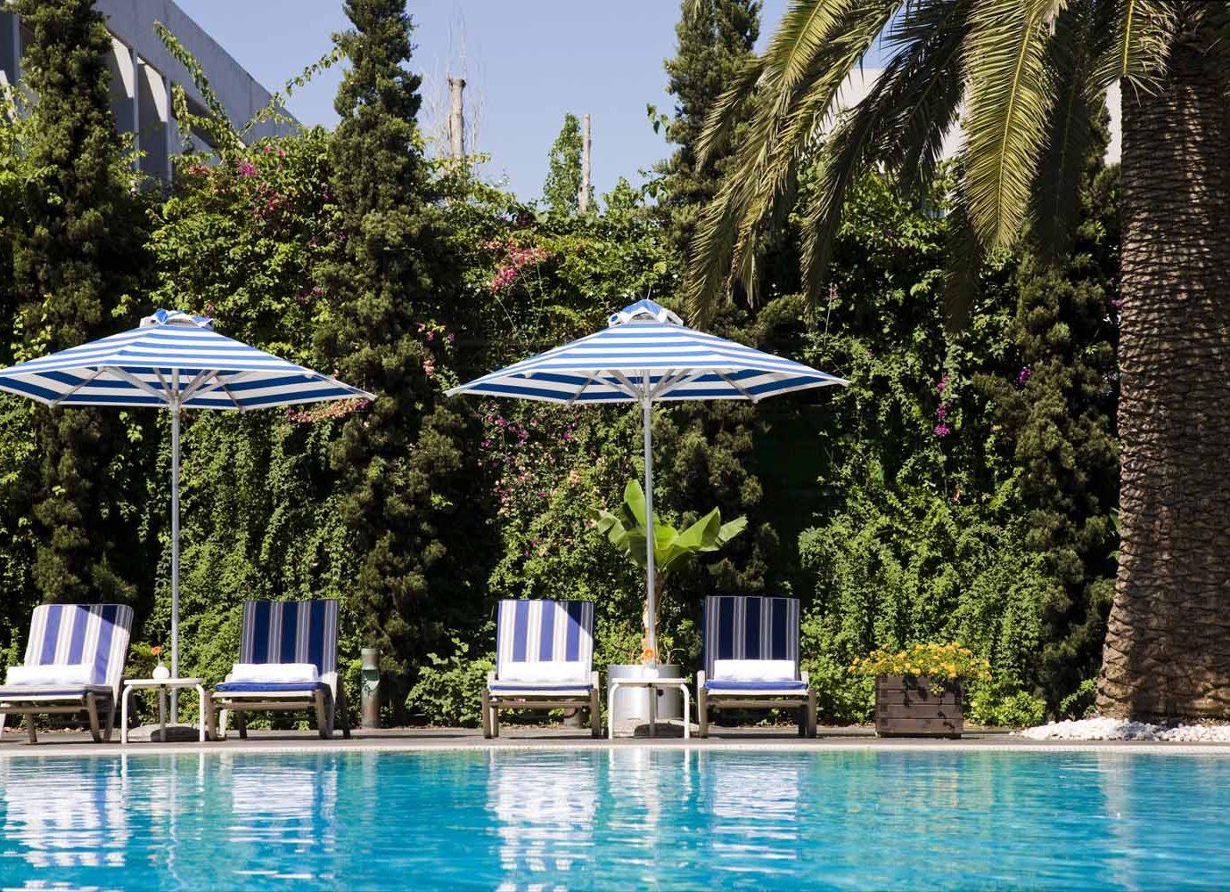 Pool at Hilton Athens