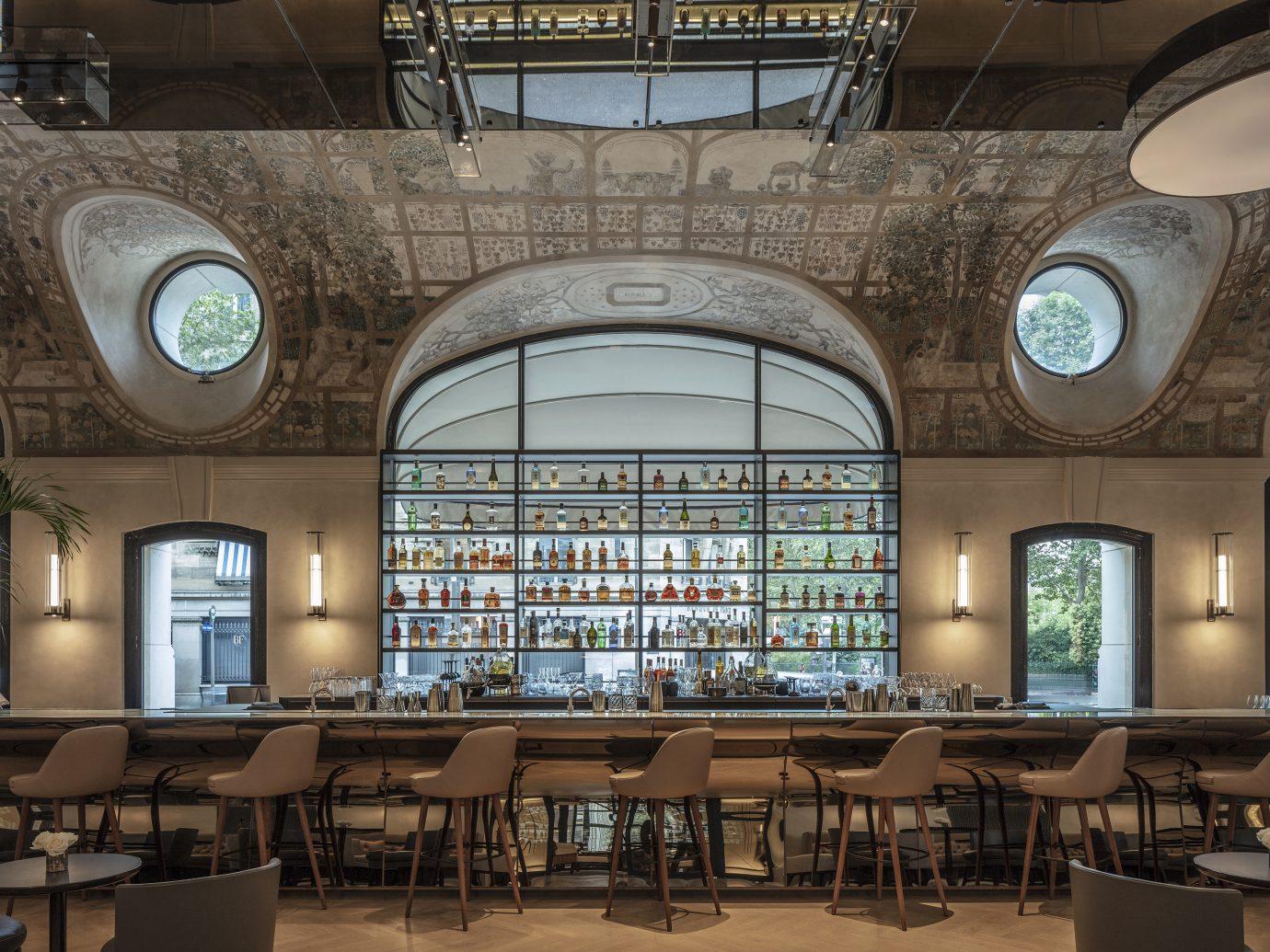 Bar Joséphine detail at Hotel Lutetia