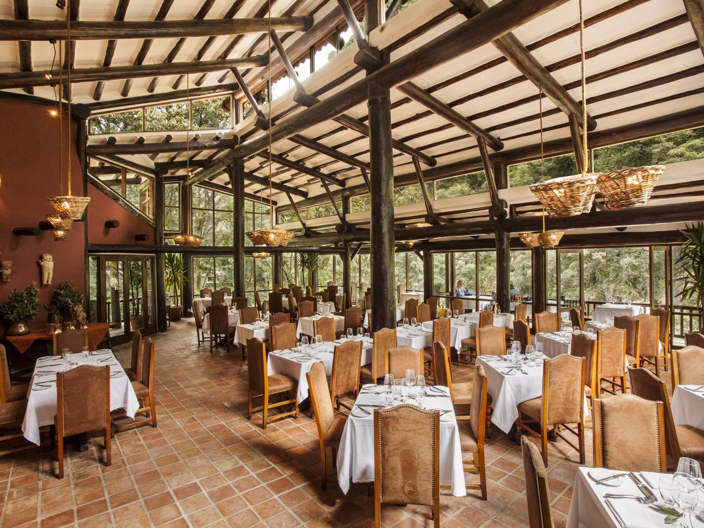 Restaurant at inkaterra Machu Picchu Pueblo Hotel