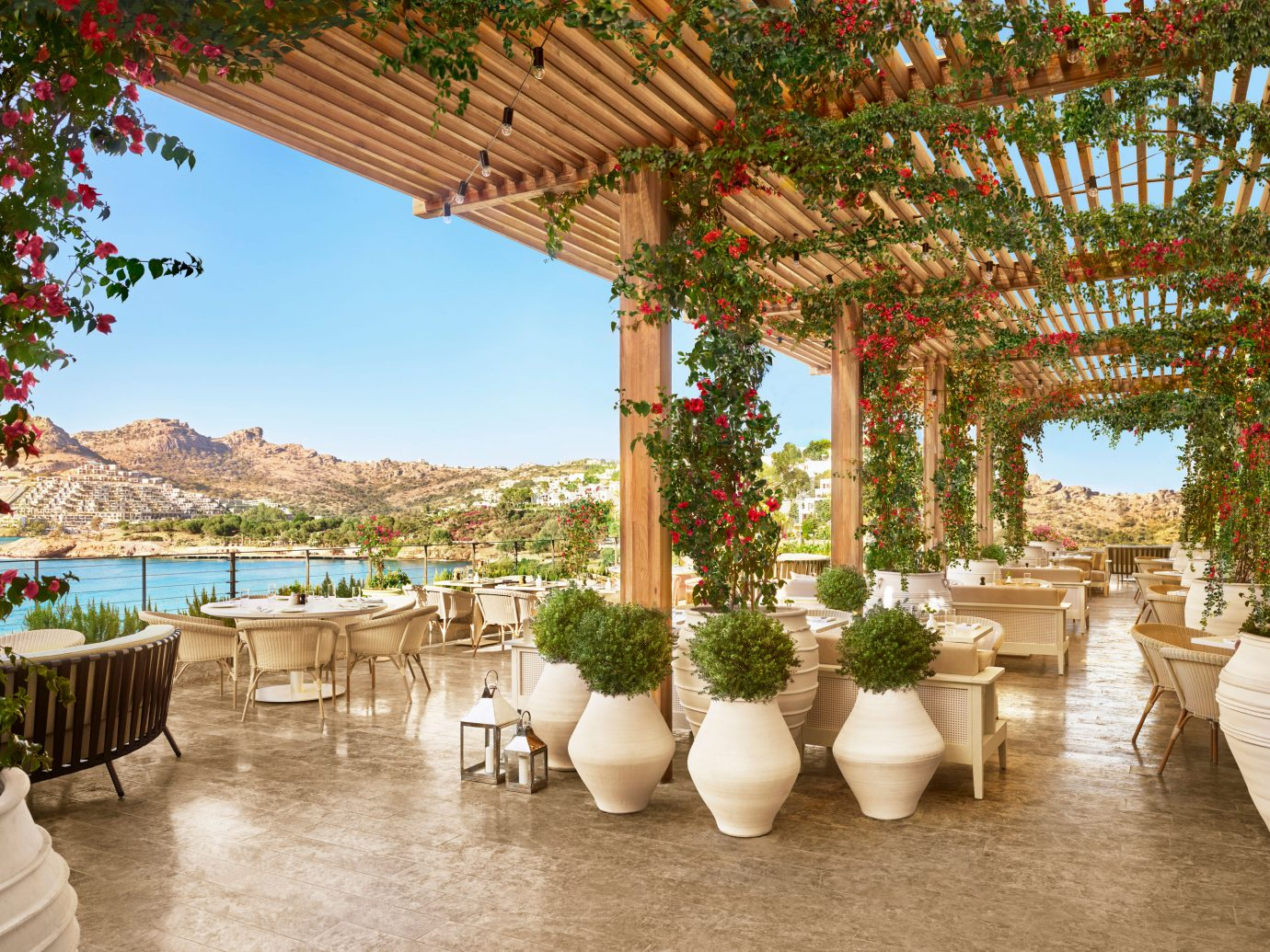 terrace at The Bodrum EDITION