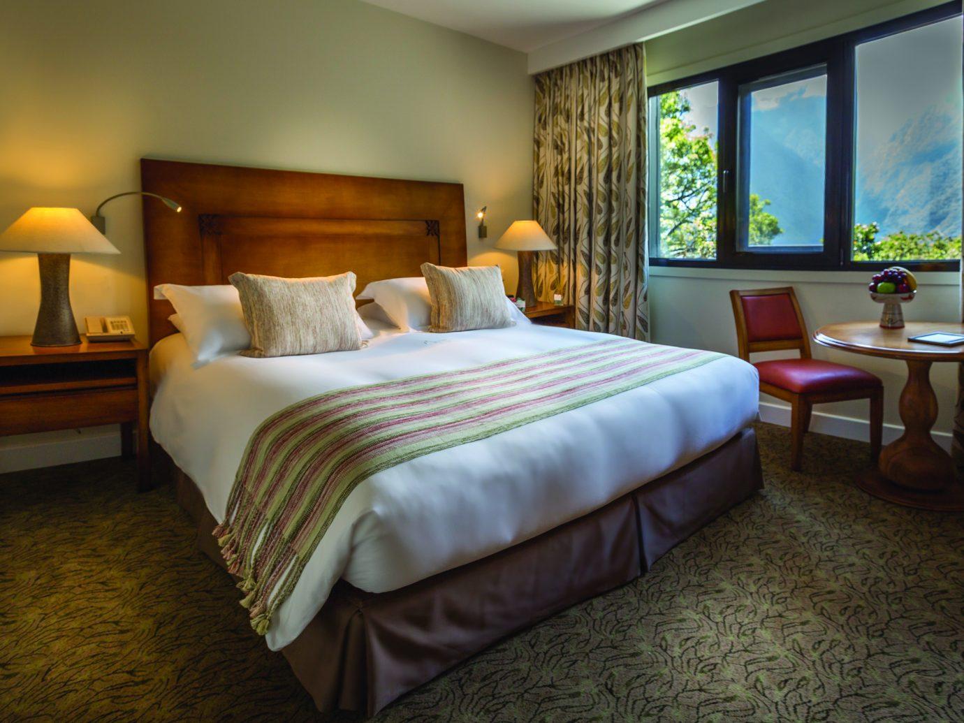 Bedroom at Belmond Sanctuary Lodge
