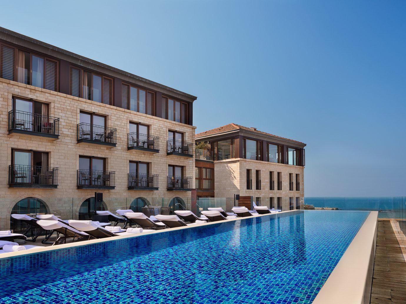 pool at Setai Tel Aviv, Israel