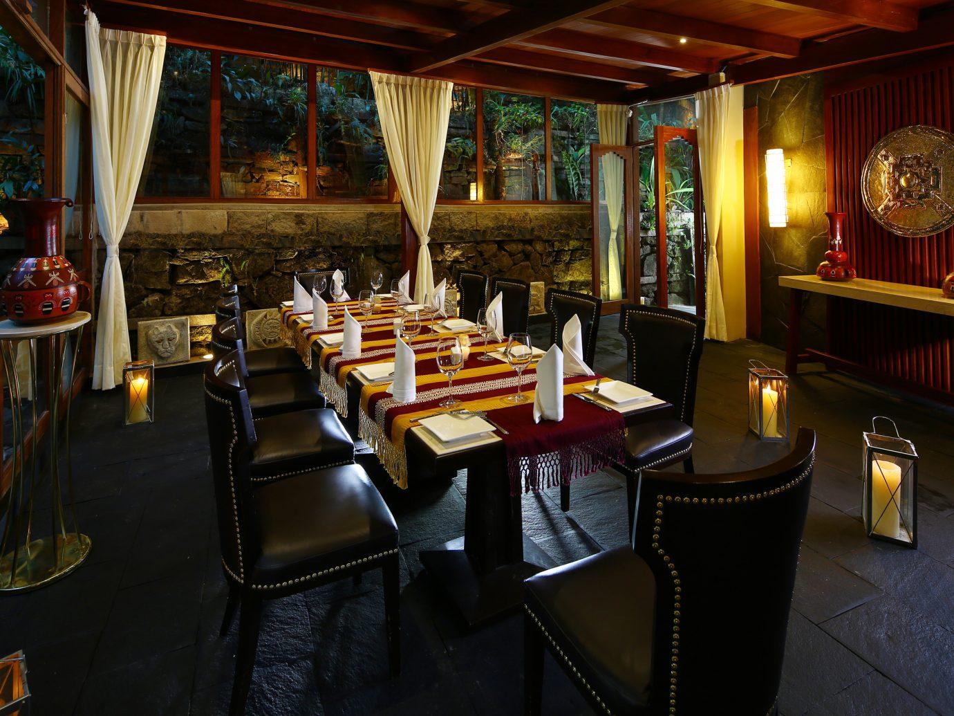Qunuq Restaurant Terrace at SUMAQ Machu Picchu