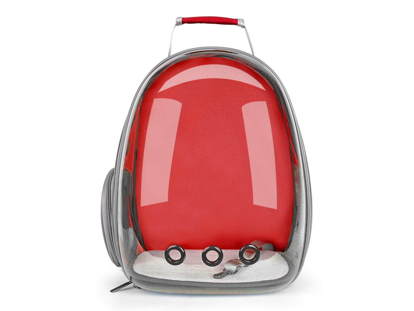 Red Lollimeow Pet Carrying Backpack
