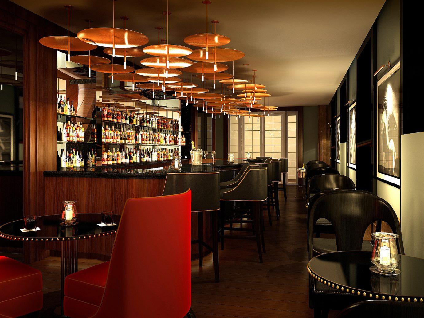 Bar at Waldorf Astoria Caledonian