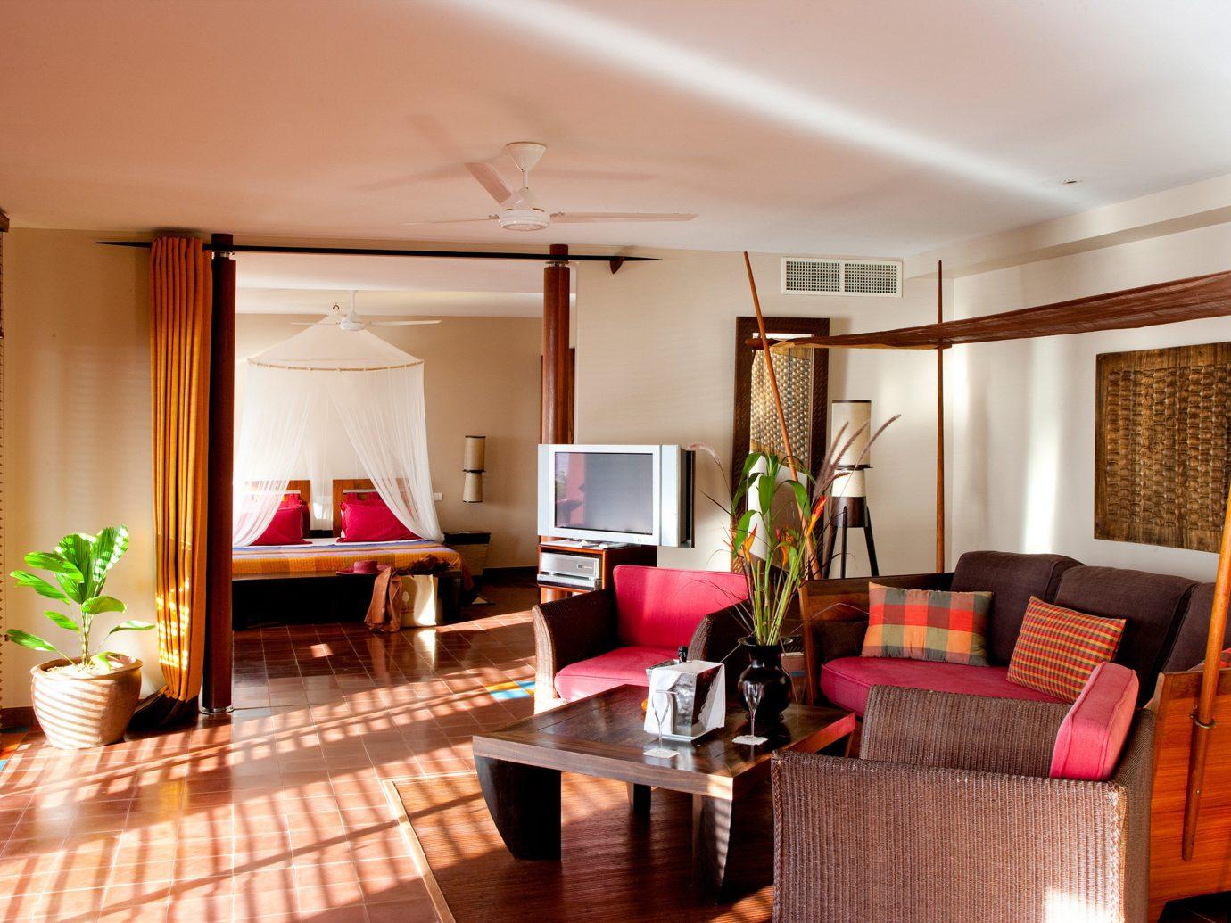 Bedroom at Le Cap Est Lagoon Resort