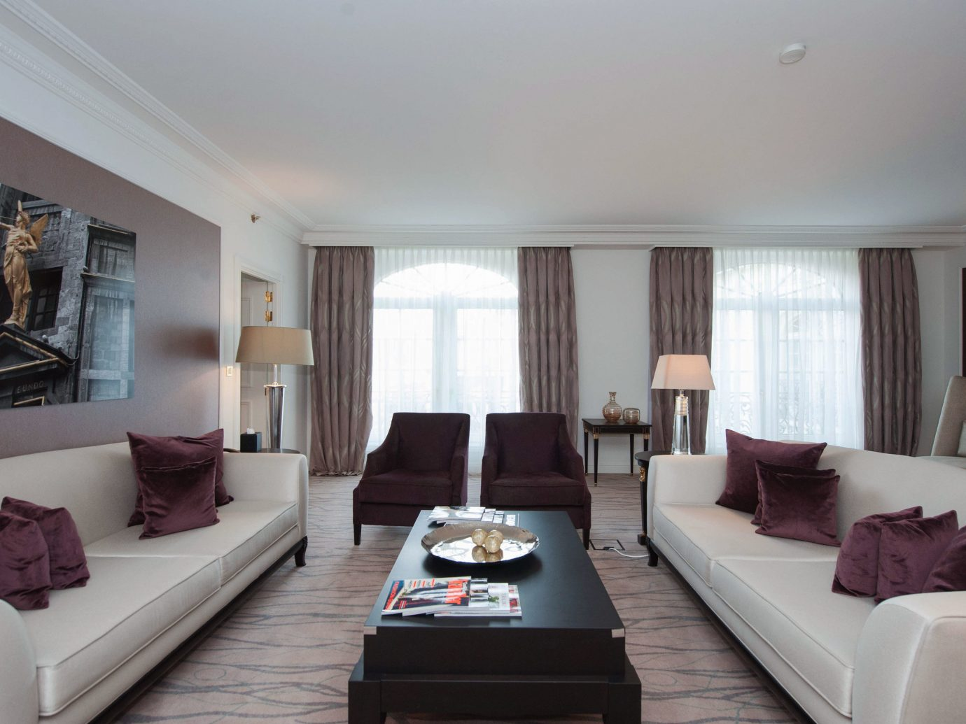 Living room at Steigenberger Wiltcher