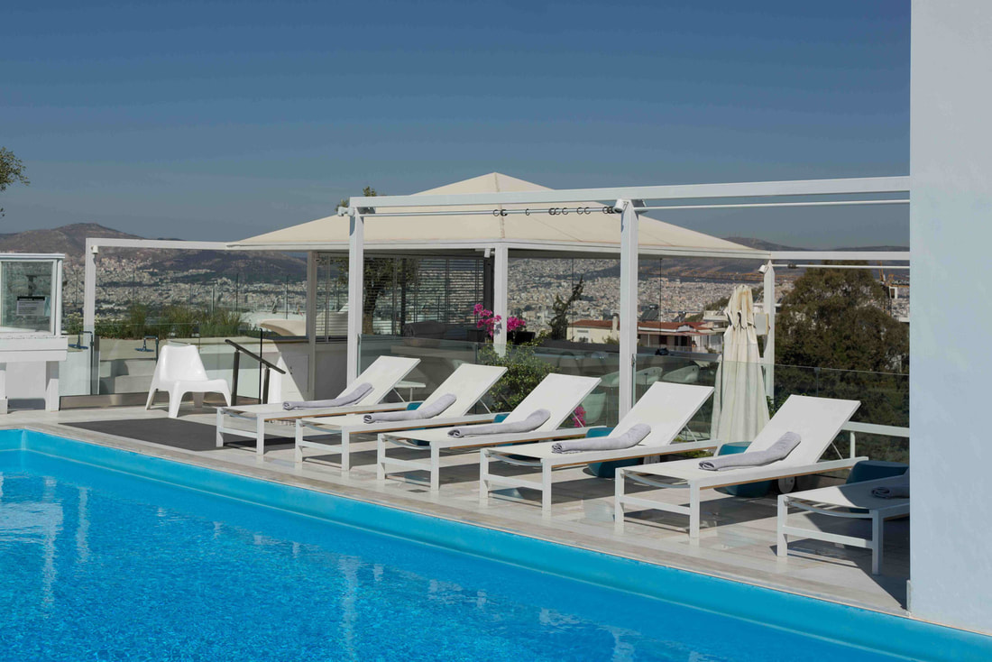 Pool at St George Lycabettus Lifestyle Hotel