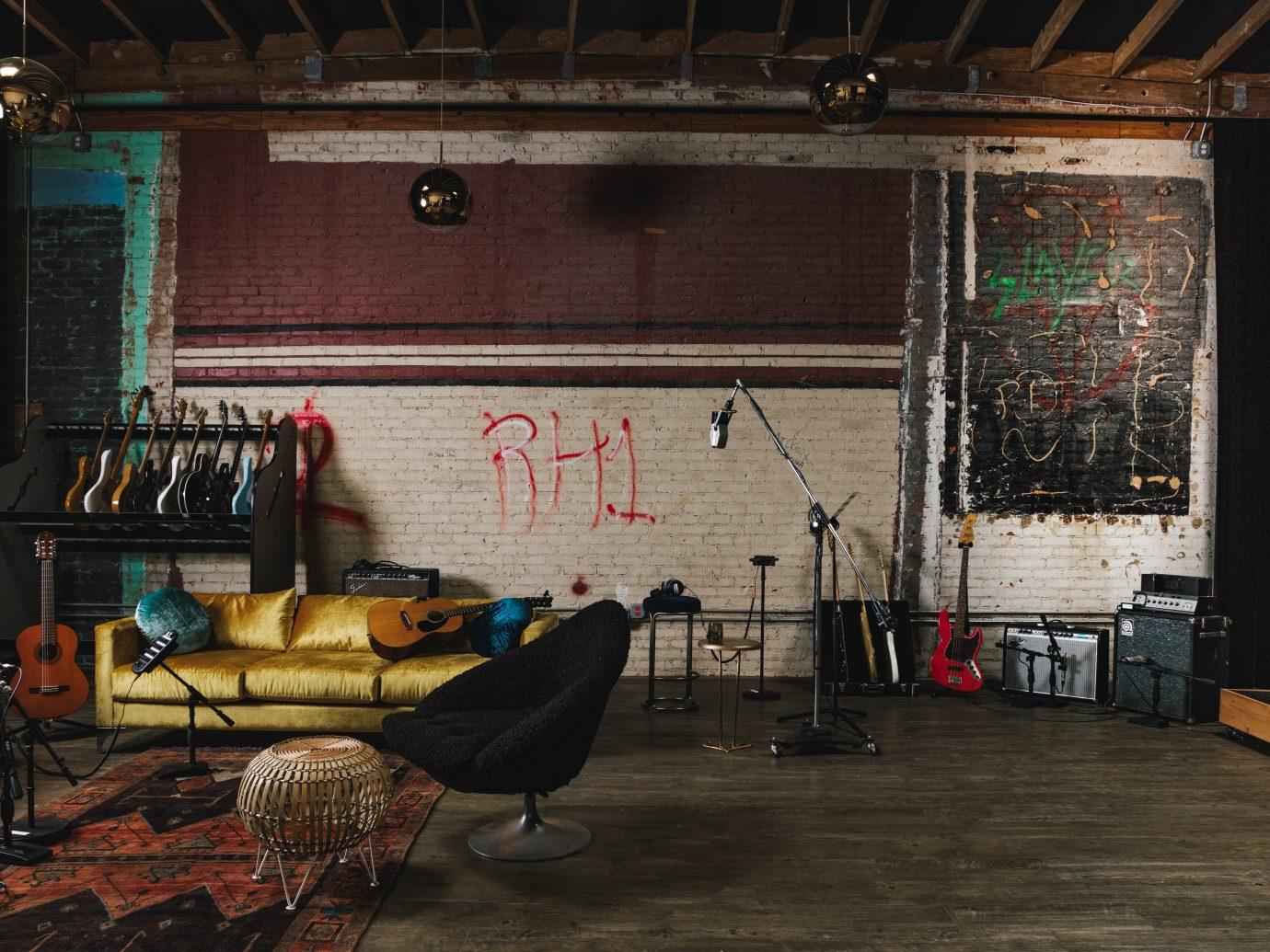 studio interior area