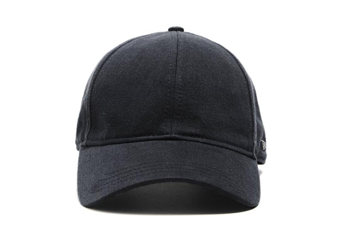 TODD SNYDER + NEW ERA DAD HAT IN BLACK SELVEDGE CHINO