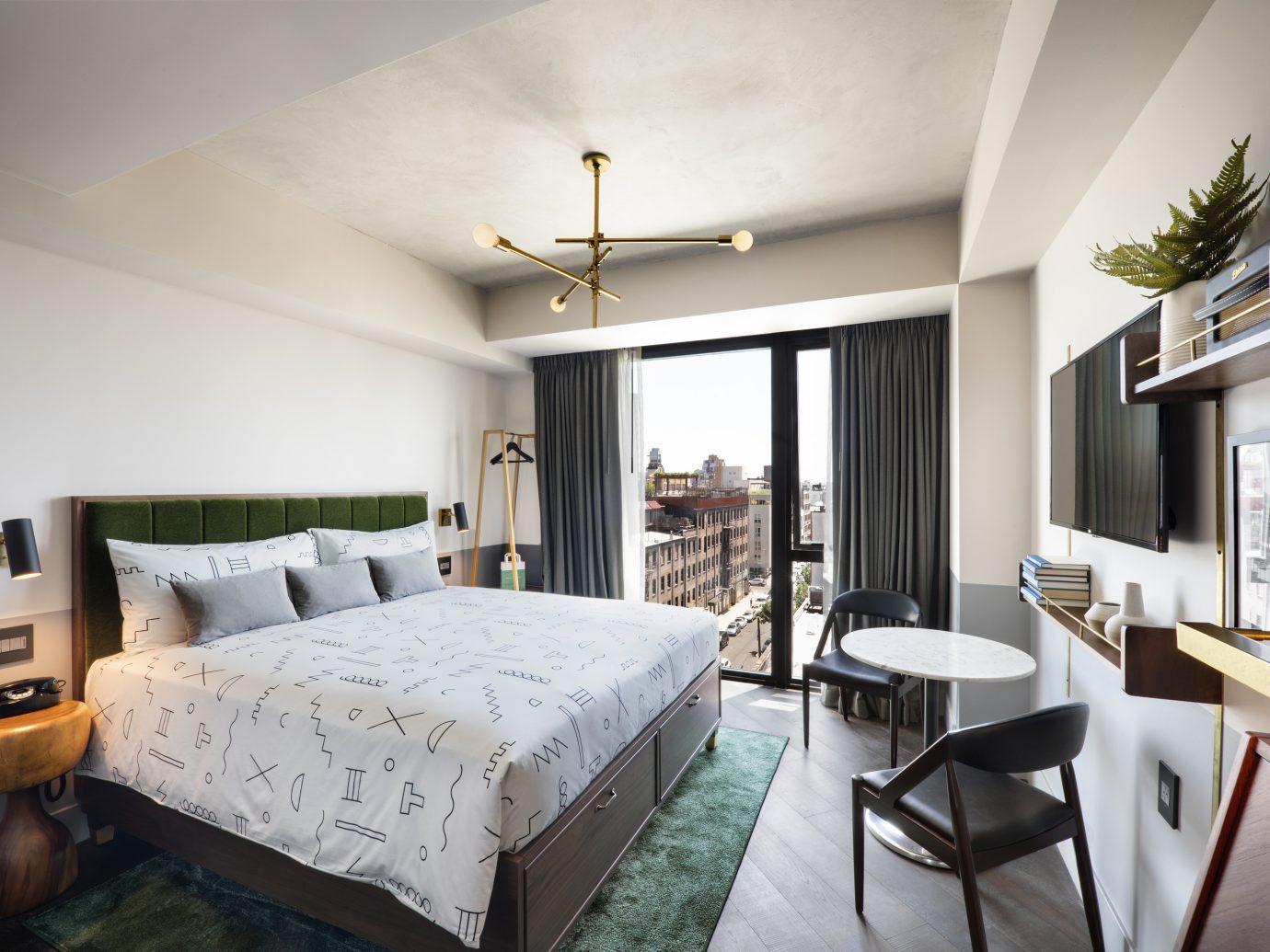 Bedroom at the Hoxton Williamsburg
