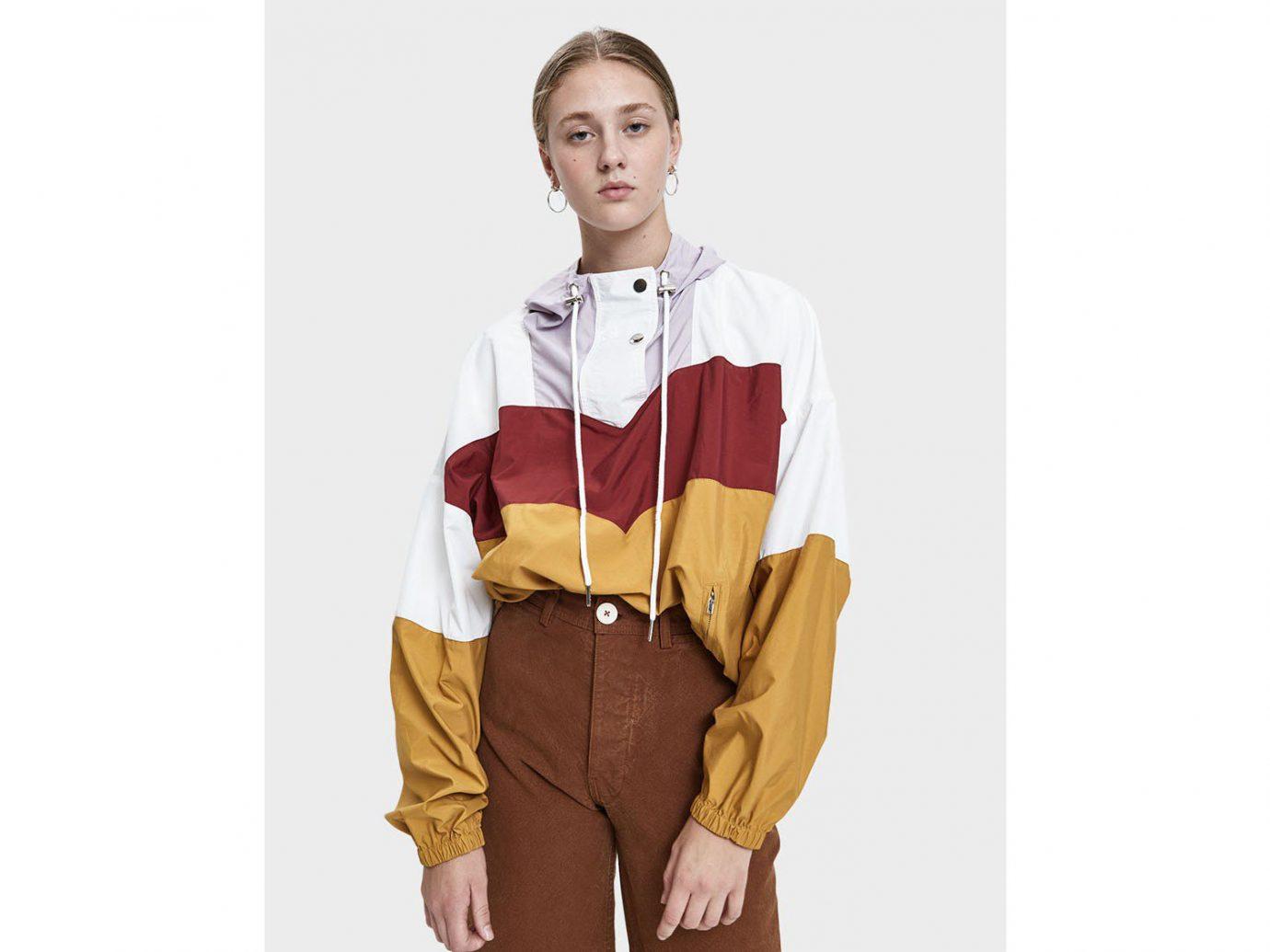 Farrow Charly Pullover Jacket in Mustard Multi