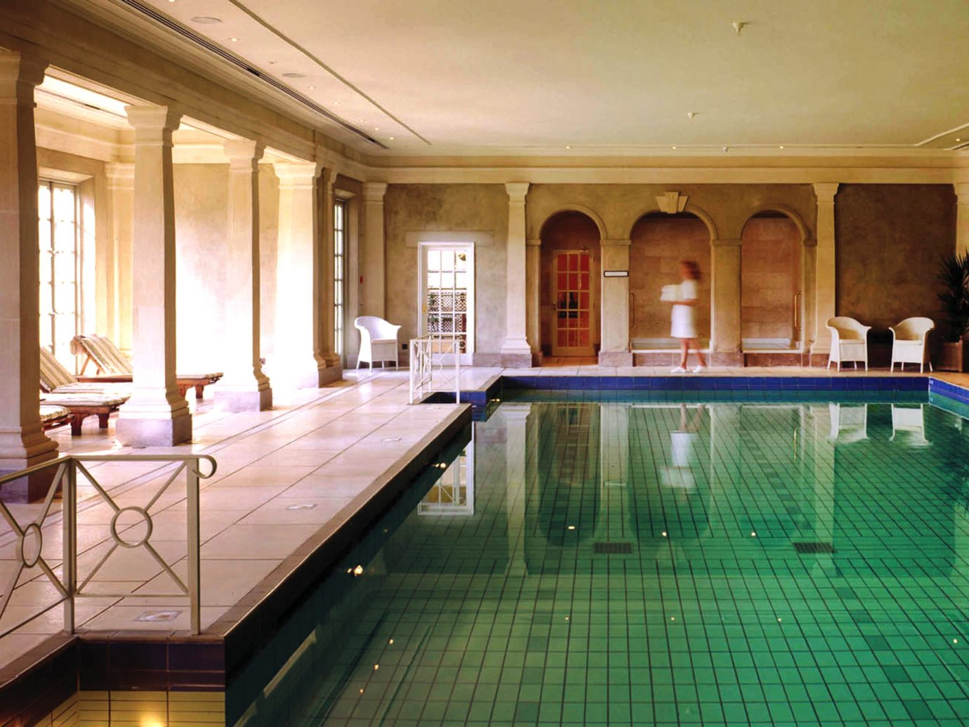 indoor pool at Cliveden House