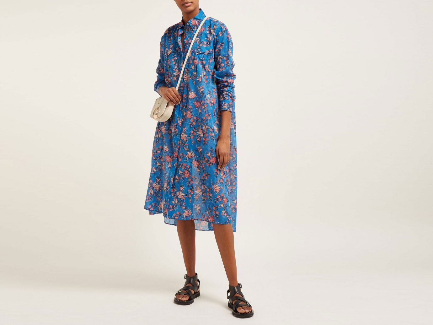 Isabel Marant Etoile Eliane floral-print cotton-voile midi dress