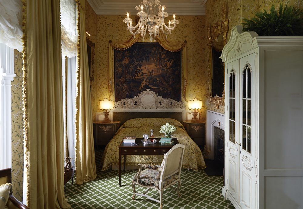 Bedroom at Ashford Castle