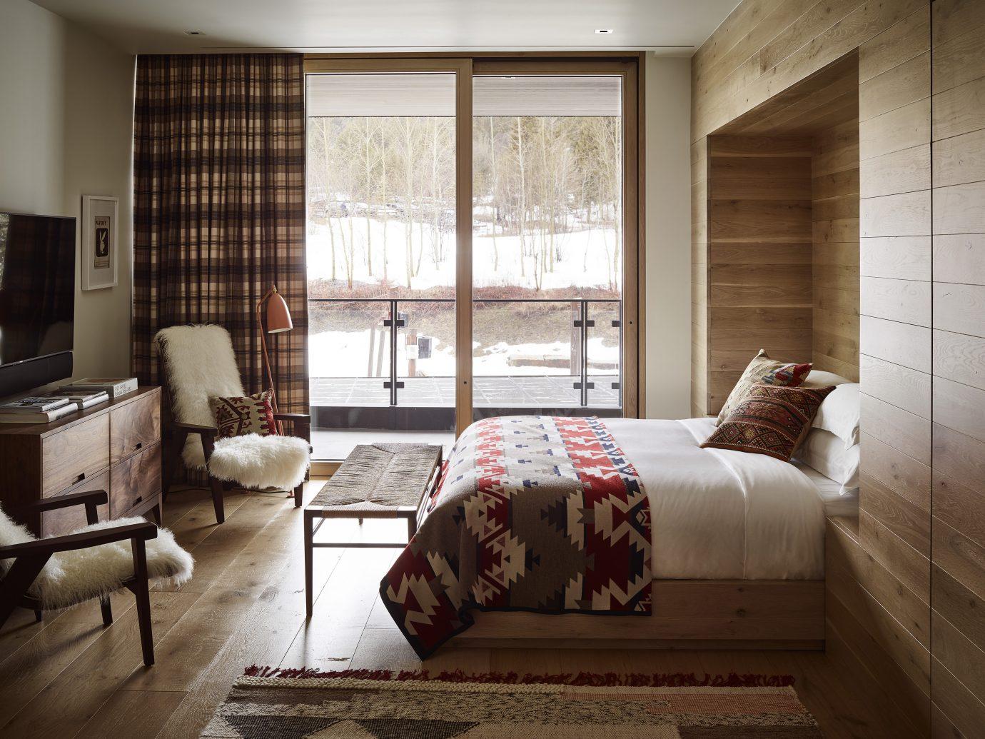 Bedroom at Caldera House