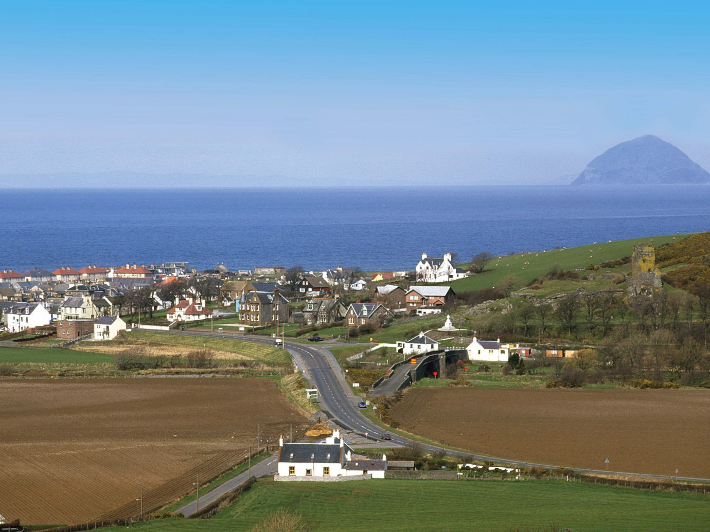 Ballantrae village in Scotland