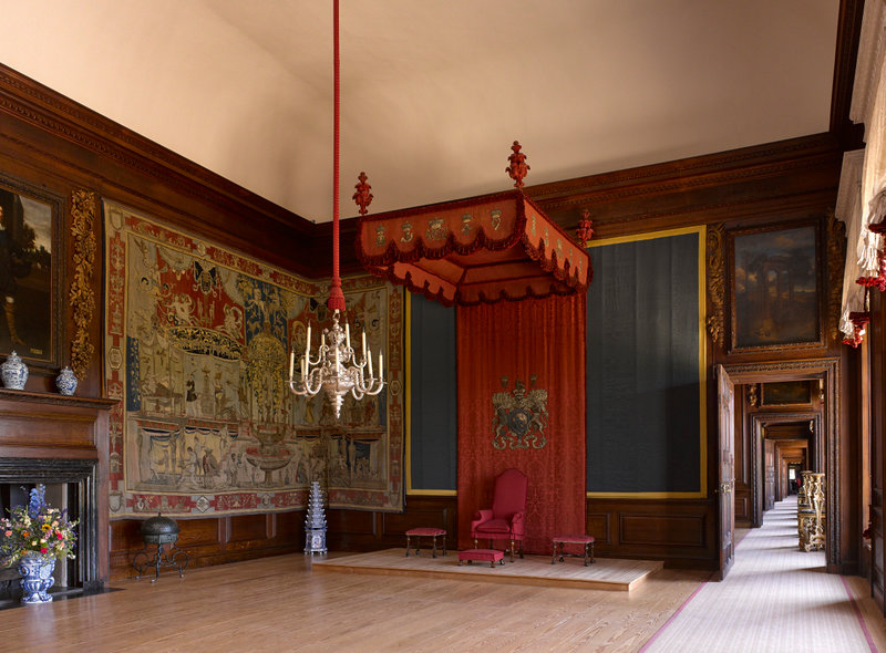 Hampton Court Palace,James Brittain,The King's Presence Chamber, looking north east