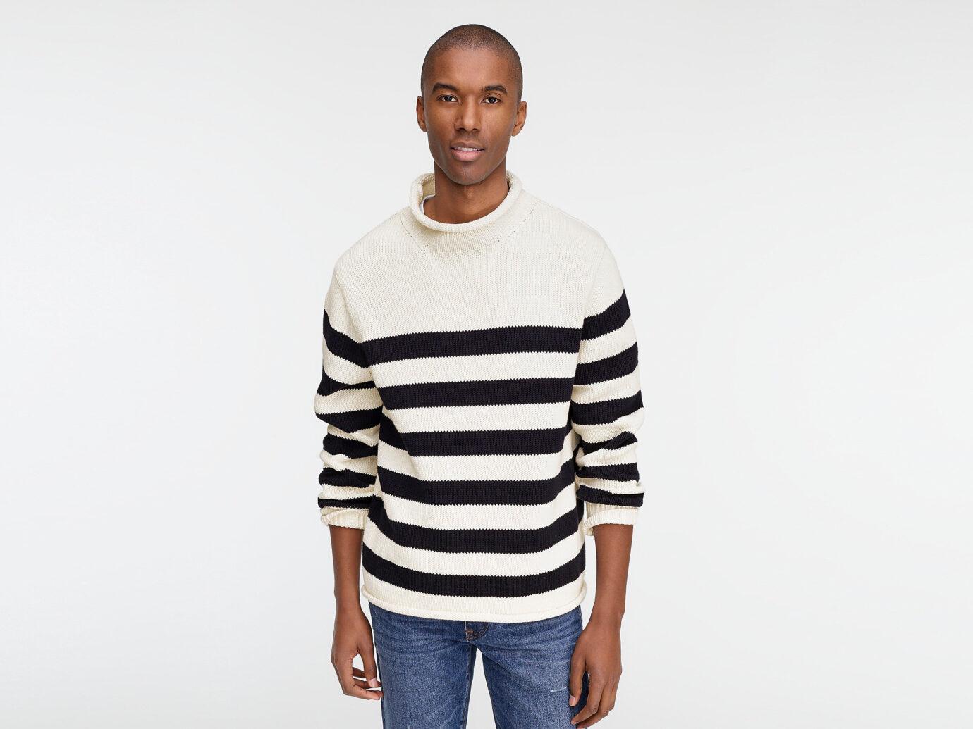 J.Crew 1988 Cotton Rollneck Sweater